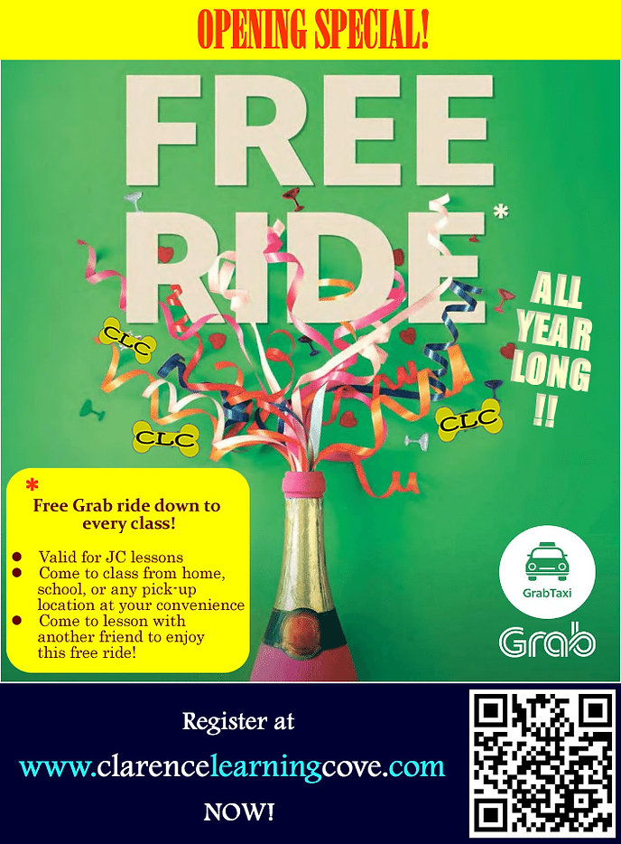 Free Grab to Clarence Learning Cove