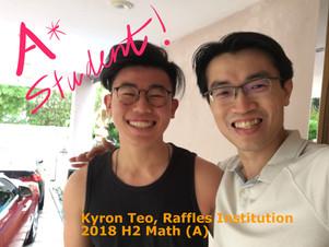Kyron Teo - RI - Math(A)