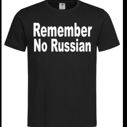 Remember No Russian