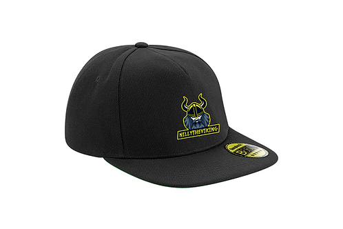 NillyTheViking Original Flat Peak Snap Back B660
