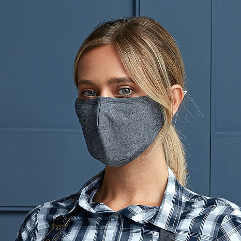 3 Layer Fabric Face Mask