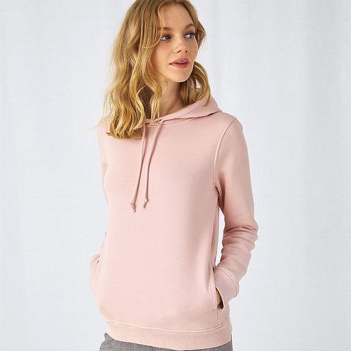B&C Organic Hooded /women