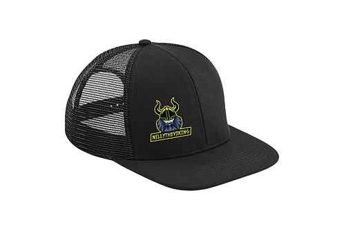 NillyTheViking Original Flat Peak 6 Panel Trucker