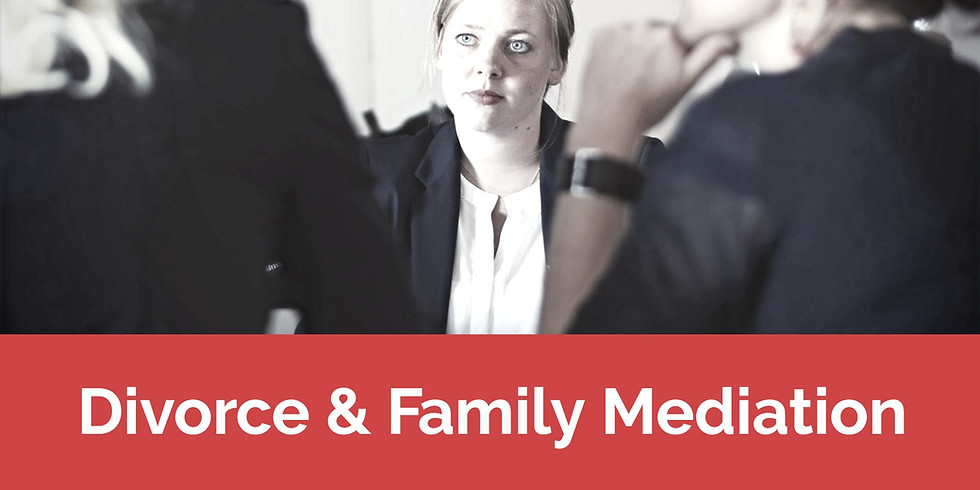 Divorce & Family Mediation - Birmingham - Nov 5-9, 2020