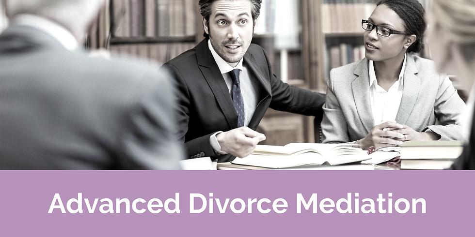 Advanced DIVORCE Mediation Seminar / Sept 13-14, 2021 / Birmingham, AL