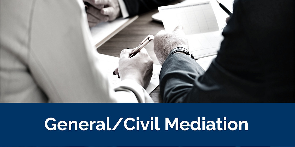 Civil Mediation (20 Hour) / Sept 16-18, 2021 / Birmingham, AL