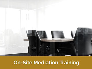 On-Site Mediation Training