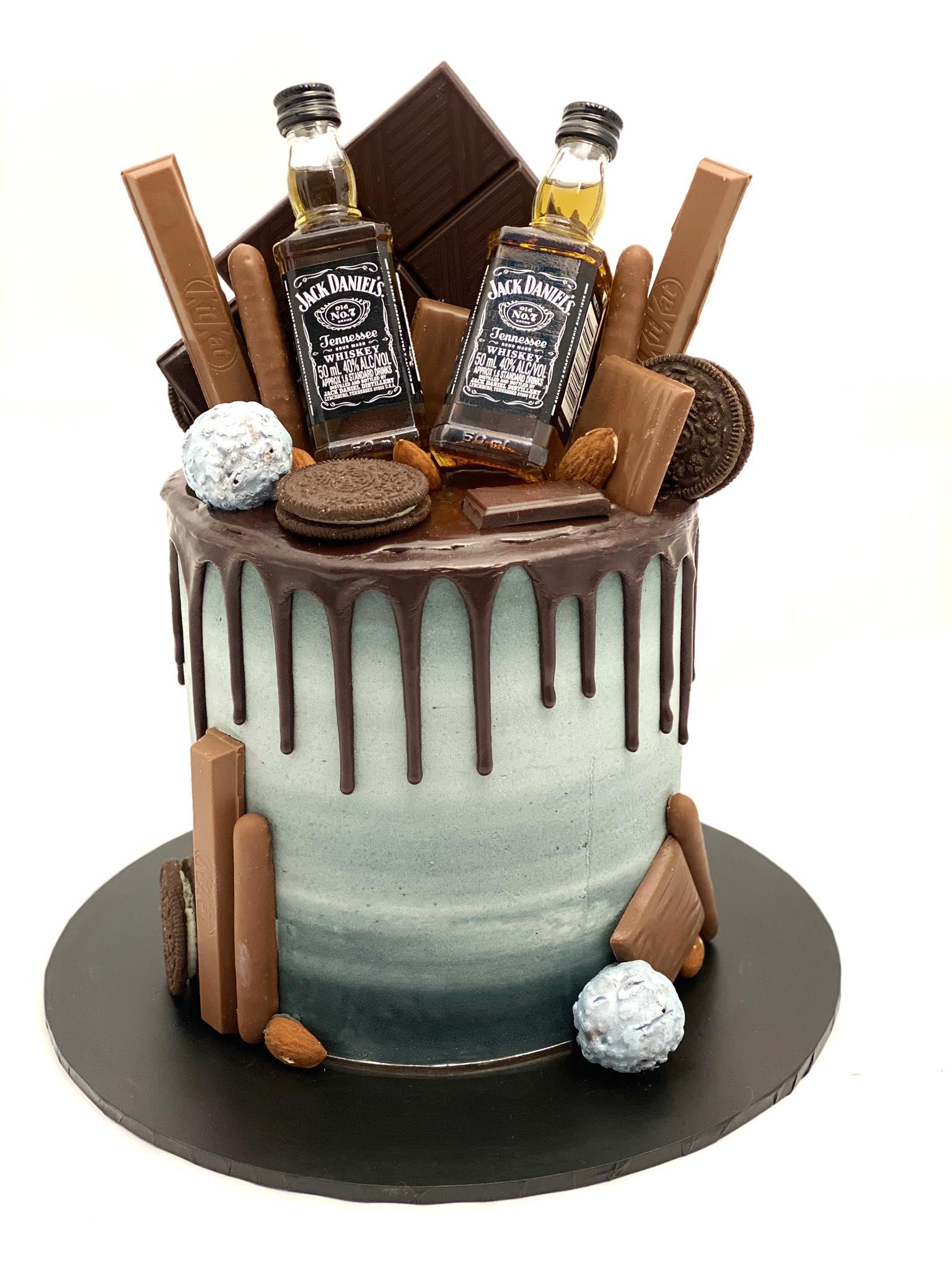 slate male cake