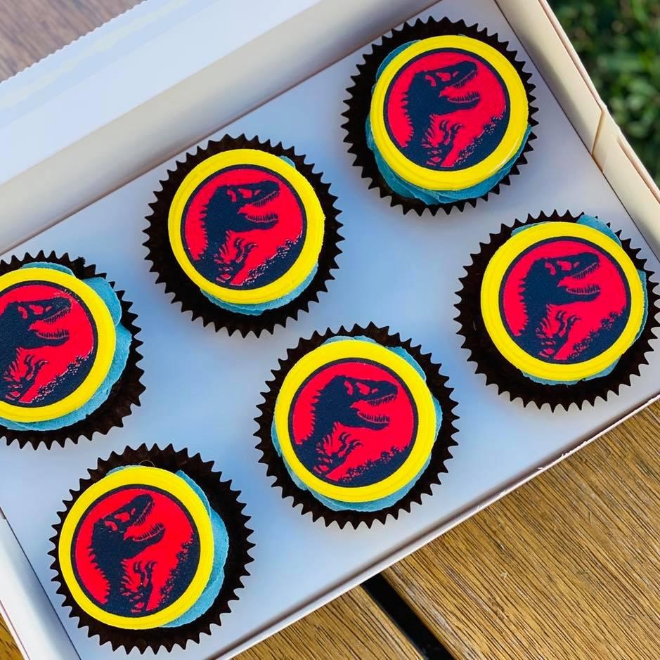 jurrasic cupcakes