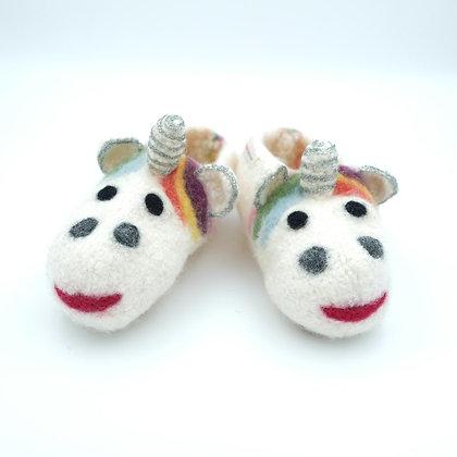 Liina-Lou Pantoffeln für warme Kinderfüße