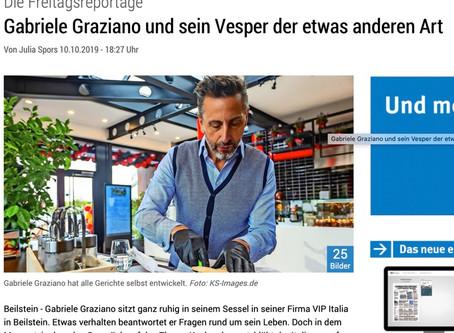 Aus der Presse: Marbacher Zeitung vom 10.10.2019