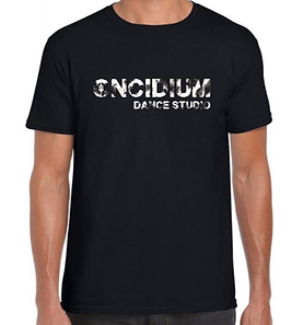 T-shirt noir marbré Oncidium.png