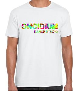 T-shirt blanc coloré Oncidium.png