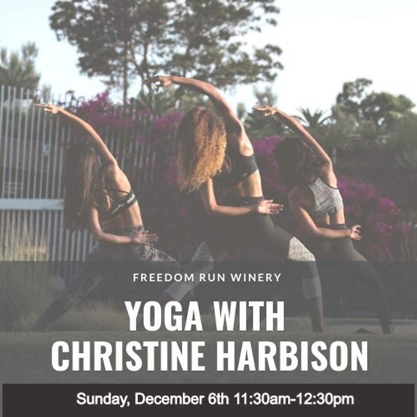 Yoga with Christine Harbison