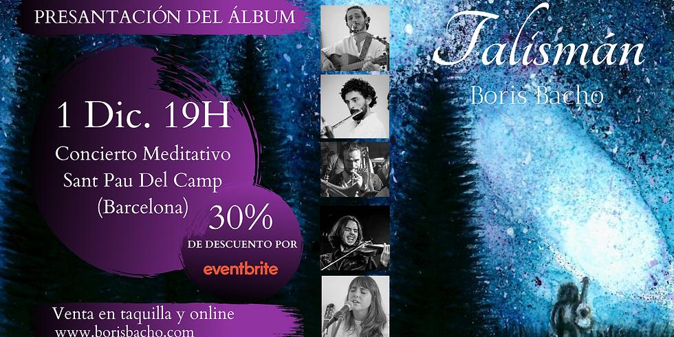"""Presentación y Concierto del álbum """"Talismán"""""""