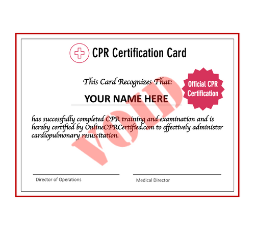 $14 CPR Certification Course & Exam