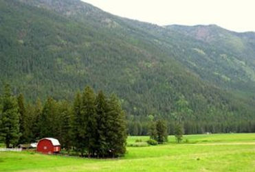 Columbia Mountain Ranch near Glacier National Park