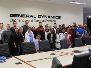Engineering Tour at General Dynamics