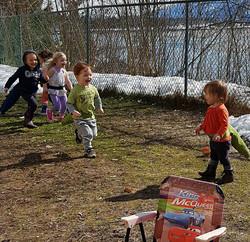 kids dinasour party