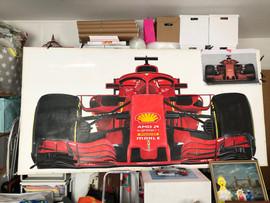 Lifesize Ferrari SF71H