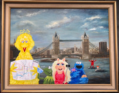 Muppets trip to London