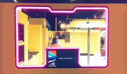 Panel window LED TV