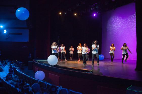 Moomba Fitness Presentation at Nextel Theatre