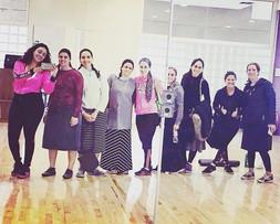 Kosher Moomba Fitness Class