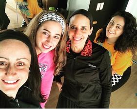Kosher Moomba Fitness Students