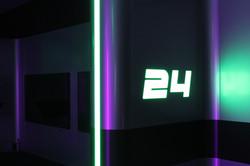 LED Number