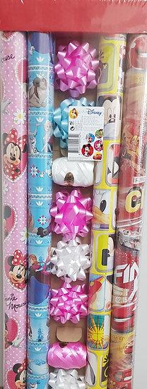 """Geschenkspapier Set """"Disney"""""""