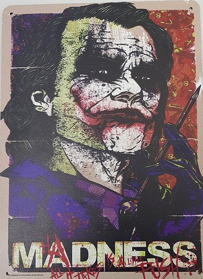 """Bild """"Joker"""" Karton 29,5 x 20 cm"""