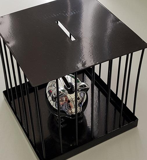 Sparschwein im Gefängnis