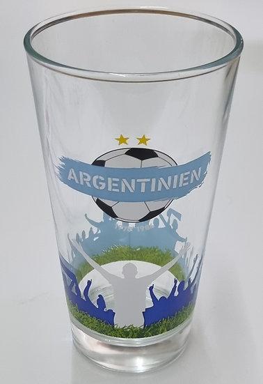 """Weltmeisterglas """"Argentinien"""""""