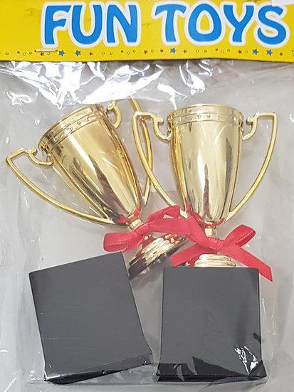 Pokale 2 Stk.  10,5 cm