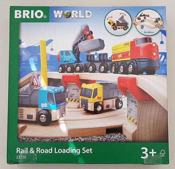 """""""BRIO"""" Rail & Road Set 32 tlg."""