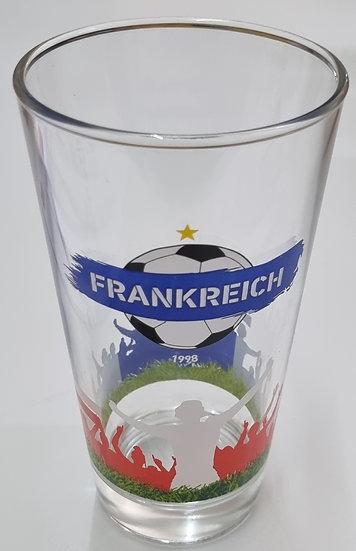 """Weltmeisterglas """"Frankreich"""""""