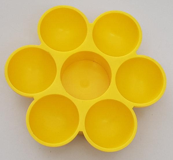 Eierständer für 6 Eier und Gewürz