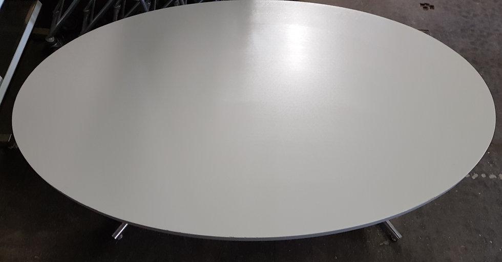 Sitzungstisch oval 165 cm lang
