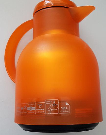 Thermokanne Orange 1 L