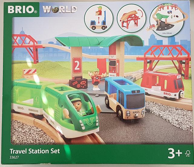 """BRIO"" Travel Station Set 25 tlg."