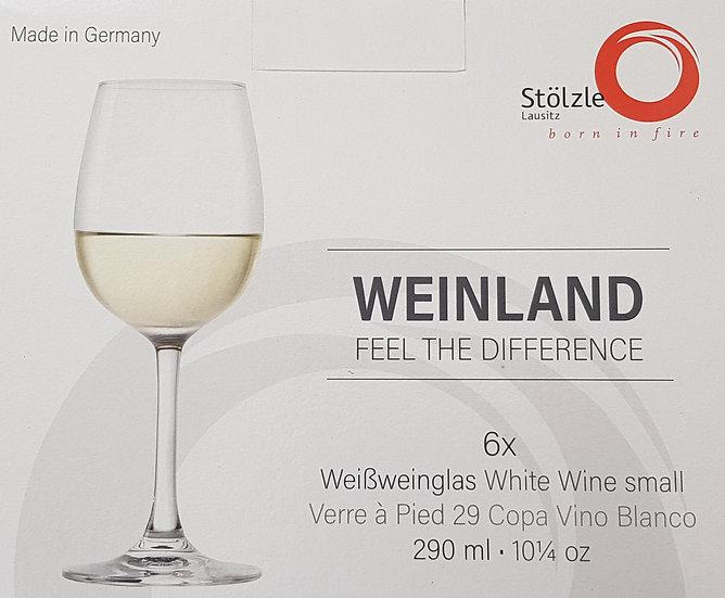 6 Stk. Weissweinglas