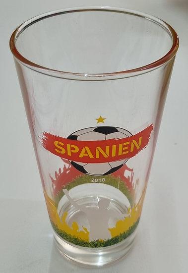 """Weltmeisterglas """"Spanien"""""""