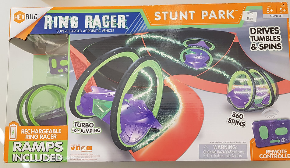 Ring Racer mit Rampen Remote controlled