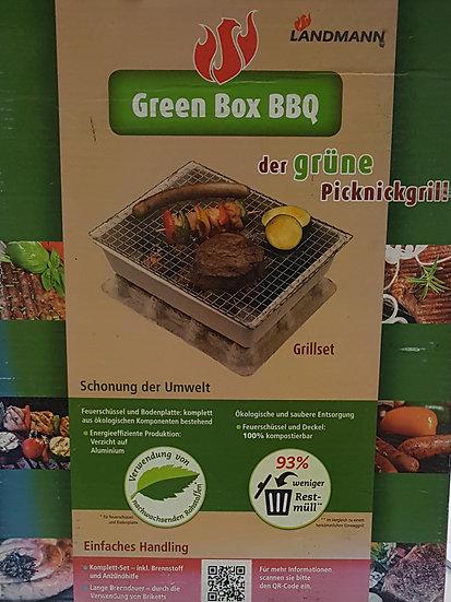 Der grüne Picknickgrill