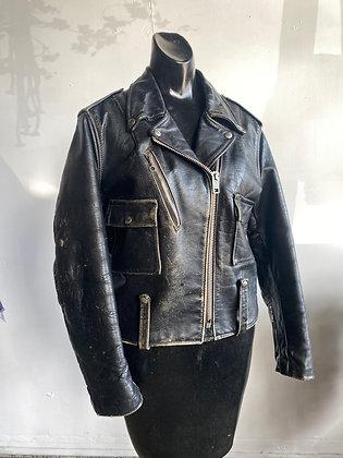 1970's Harley Davidson AMF leather Biker Jacket size 38