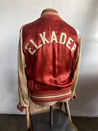 1940s/50s Butwin Elkader Satin Varsity Jacket