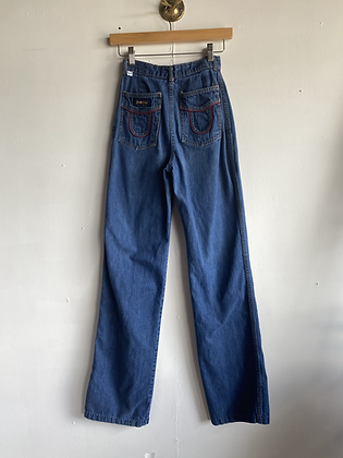 1970's Jeanetics High Rise Denim Jeans