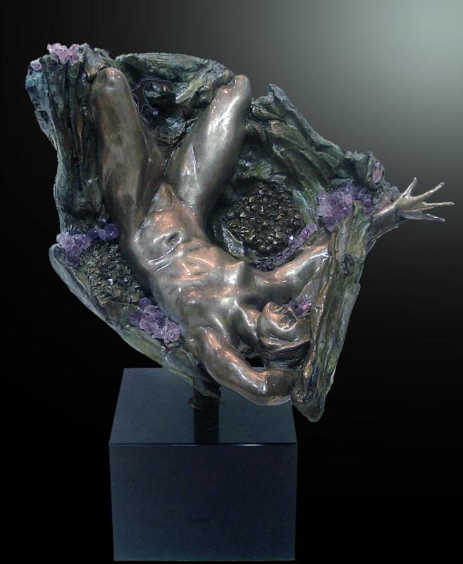 Amethyst Geode III Inverted Fragment