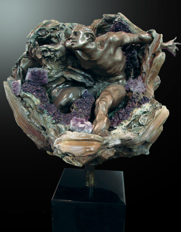 Amethyst Geode I Stabilized Fragment